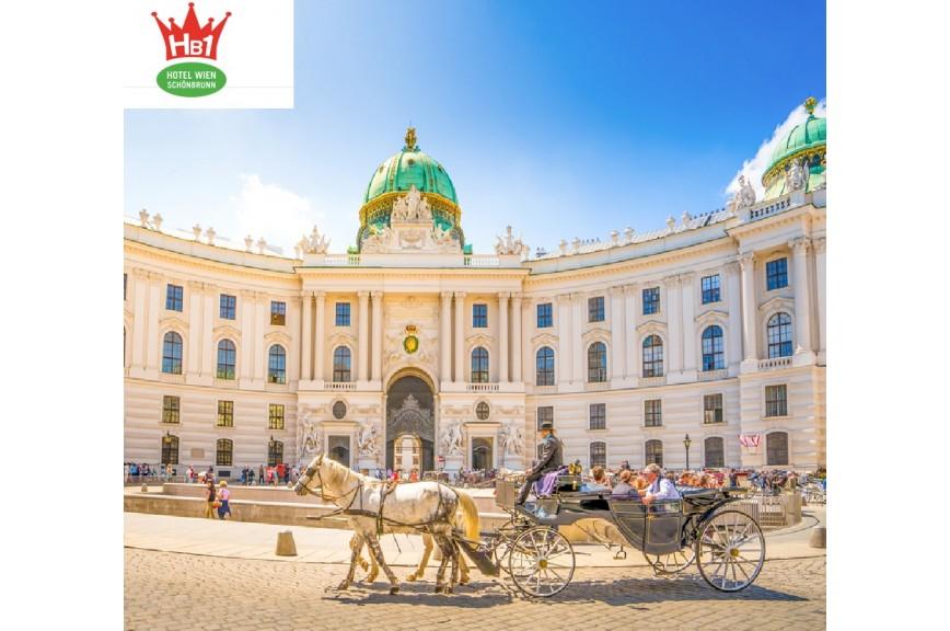 Hotels in Wien ab 1 Nacht 59€ für 2 Personen im Doppelzimmer inkl. Frühstück im HB1 Wien Schönbrunn Hotel