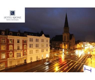 Aachen: 3 Tage für 2 Personen, Doppelzimmer, Frühstück im Hotel Krone Aachen | C..