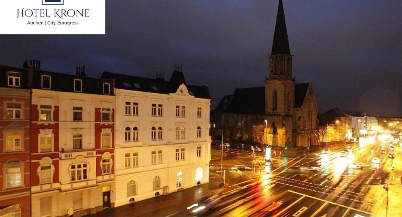 Aachen: 3 Tage für 2 Personen, Doppelzimmer, Frühstück im Hotel Krone Aachen | City-Eurogress