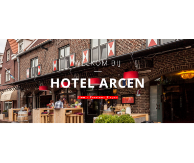 1 ÜN/F für 2 Personen im Deluxe-Zimmer inkl. 1x Begrüßungsgetränk im Hotel Arcen..