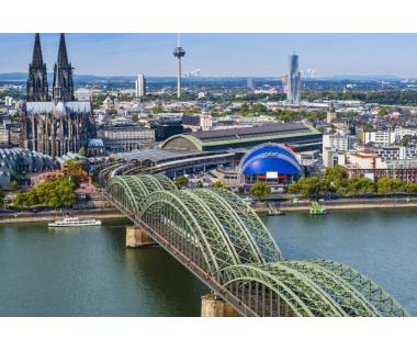 Köln: 3 Tage in einem Standard-Zweibettzimmer (Twinbett) oder Doppelzimmer (nach..