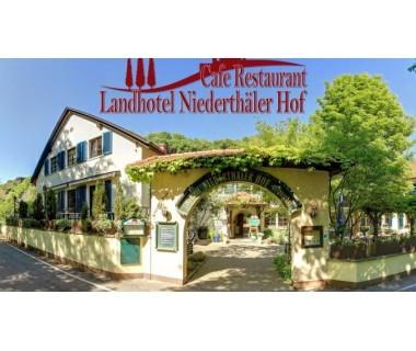 Rheinland-Pfalz: 3 Tage zu zweit im Landhotel Niederthäler Hof inkl. Halbpension..