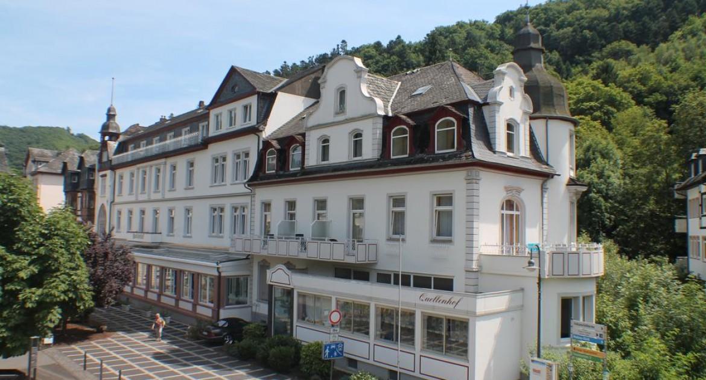 Kurzurlaub Bad Bertrich 3 Tage im DZ/F, Vulkaneifel Therme,im Hotel Quellenhof
